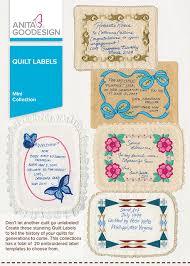 quilt labels anita goodesign
