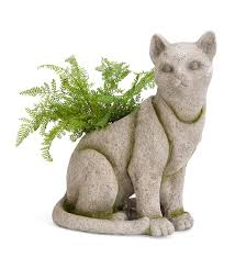 animal planters cat planter outdoor planters wind u0026 weather