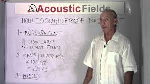 Sound Proof Basement Ceiling by How To Soundproof A Basement Www Acousticfields Com Youtube