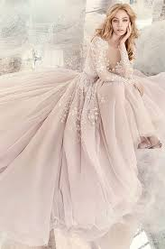 winter wedding dresses 34 sleeve wedding dresses for fall and winter weddings