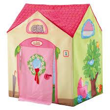 tente chambre fille tente de jeu la villa de lilli haba berceau magique
