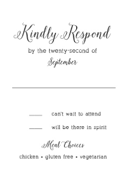 wedding invitations with response cards wedding rsvp cards match your color style free basic invite