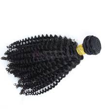 Curly Fusion Hair Extensions by Natural Black Curly Brazilian Virgin Hair Weft Hair