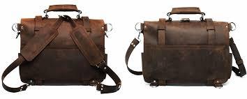 mens travel bag images Men 39 s large handmade vintage leather briefcase leather satchel jpg