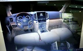 Lexus Lx Interior Pictures 2017 Toyota Land Cruiser And Lexus Lx Facelift Leaked In The