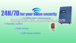 high security electric fence alarm system factory in