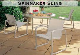 Sling Patio Dining Set Sling Patio Furniture Watson S Fireplace And Patio