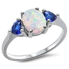 blue opal engagement rings 36 most unique opal engagement rings from etsy