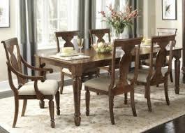 liberty furniture rustic tradition rectangular leg dining table
