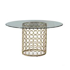 round glass top table with metal base clayton round glass dining table metal base material 6 seating