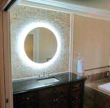 Bathroom Mirror With Lights Built In Bathroom Mirrors With Lights Ed Ex Me