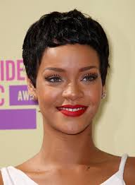 boycut hairstyle for blackwomen rihanna latest short black boy cut for women hairstyles weekly