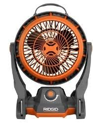 ryobi fan and battery ridgid gen5x 18 volt hybrid fan r860720b tools in action power