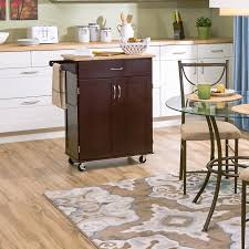 Kitchen Storage Carts Cabinets Kitchen Sunny Designs Kitchen Cart With Butcher Block Top With