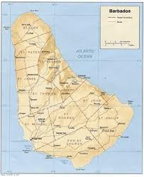 map usa barbados barbados