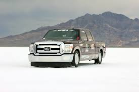 2011 Ford F250 Utility Truck - super duty speedster 2011 ford f 250 hits 182 mph