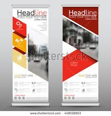 layout banner design red roll business brochure flyer banner stock vector 449038903