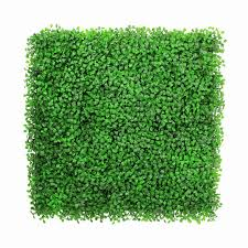 1 sqm artificial grass fencing mats uv proof decorative green