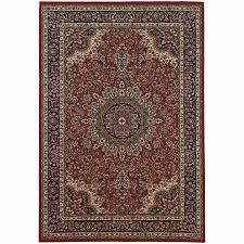 Area Rugs 10 X 14 by Shop Archer Lane Grove Red Rectangular Indoor Machine Made