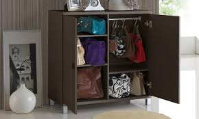 entryway storage cabinet with doors wood entryway storage cabinet groupon goods throughout plans 16