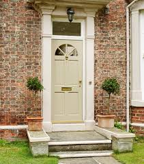 Double Glazed Wooden Front Doors by Glazed Wooden Front Doors Style Entry The Upvc Double This White