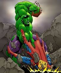 superman hulk samdelatorre hulk superman green