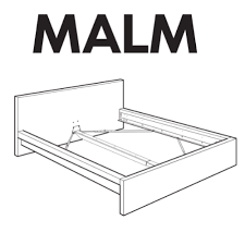 Malm Ikea Bed Frame Ikea Malm Bed Frame Replacement Parts Furnitureparts