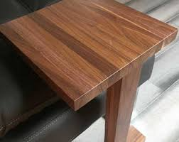 Laptop Side Table Laptop Table Etsy