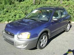 subaru 2004 wagon 2004 pacifica blue pearl subaru impreza outback sport wagon