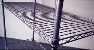 5 Tier Wire Shelving by Atlas 5 Tier Wire Shelving 21607epl5