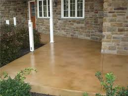 would love to do this to our concrete porch desert sand concrete