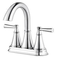 pfister cantara polished chrome 2 handle bathroom faucet lowe u0027s