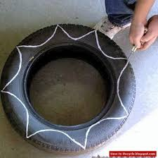 How To Use Old Tires For Decorating 256 Best Recycled Tyre Ideas For The Garden Images On Pinterest