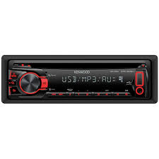 kenwood kdc 202u cd mp3 wma car stereo receiver with usb u0026 aux in