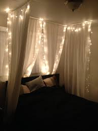 White Lights For Bedroom 23 Amazing Canopies With String Lights Ideas White Ceiling