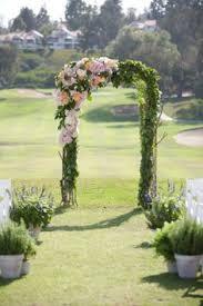 wedding arch garden black and white backyard wedding flower arch