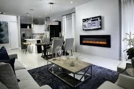 dining table in front of fireplace dining room dining room fireplace river rock living traditional