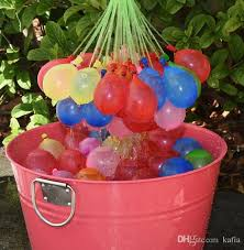 bunch of balloons novelty toys 110 bunch o balloons water frozen magic
