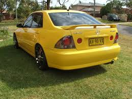 lexus parts liverpool lexus is200 yellow edition other cars for sale au starlet club