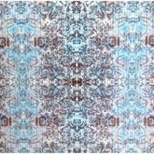 Luxury Velvet Upholstery Fabric Blue Note Vibe Velvet Fabric Design Inspired By Abstract
