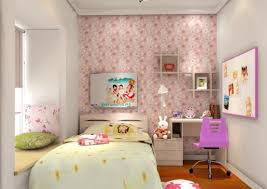 wallpaper bedroom home design inspiration modern girls