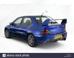 mitsubishi evolution 2005 2005 mitsubishi evo 9 fq340 stock photo royalty free image