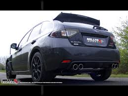 custom subaru hatchback subaru impreza wrx sti type uk 2 5 turbo milltek exhaust