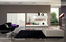 modern furniture and decor