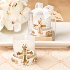 cheap baptism favors baby christening candle favors