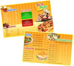 takeout menu template boxedart member downloads print menu templates food dining