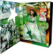 Gone With The Wind Curtain Dress Amazon Com Hollywood Legends Collection Barbie Doll Scarlett O