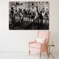 online get cheap modern decor magazine aliexpress com alibaba group wang art art picture home decor canvas print painting men s magazine living room modern no frame