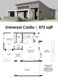 modern home designs and floor plans house plan universal casita house plan 61custom contemporary