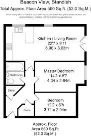 2 bedroom apartment for sale in beacon view standish wn6